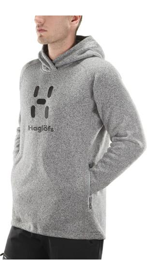 Haglöfs Swook Logo sweater Heren grijs